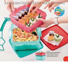 jumbo goody box with cariolier (2) 2L + 4L Tupperware