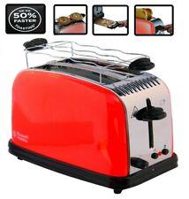 XL Toaster 2 Scheiben Brötchenaufsatz Langschlitz 6 Bräunungstufen 1600 Watt