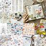 Cute Cartoon Paper PVC Stickers DIY Scrapbooking Kawaii Diary Book Decal Crafts