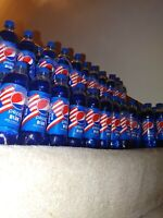 NEW FOR 2021! Limited edition PEPSI BLUE!! 6 x 16.9oz bottles! w/FREE SHIPPING!