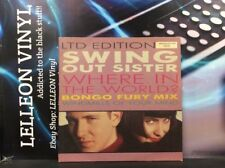 "Swing Out Sister Where In The World? 10"" Ltd Ed Vinyl SWING710 Pop 80's Numbered"