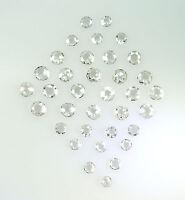 Natural Diamonds VS1 SI1 Round Rose White I J color  2 to 3 MM 5 pcs lot Q145
