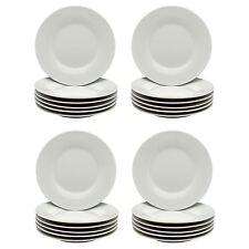 "White Side Plates Dessert Plate. Porcelain Tableware Crockery 154mm 6"" Set x24"