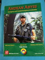 Wargame/Boardgame - Andean Abyss, COIN Series Volume I Unpunched - WG509