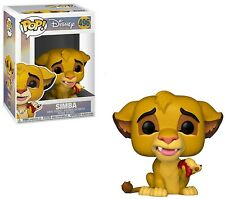 The Lion King Funko Pop! Disney Simba Vinyl Figure #496 [with Bug]
