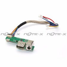 OEM HP PAVILION DV6000 DV6700 USB / DC IN POWER JACK BOARD W/ CABLE DA0AT8TB8F2