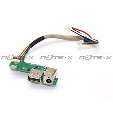 OEM HP PAVILION DV6000 DV6700 USB / DC IN POWER JACK BOARD W/ CABLE DA0AT8TB8F2