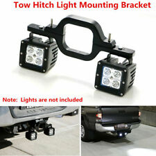 LED Tow Hitch Mounting Bracket Backup Reverse Lights For Off-Road 4x4 Truck Jeep