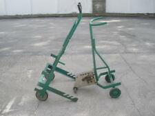Lot Greenlee 1818 Mechanical Bender and Greenlee 916 Cable Reel Transporter