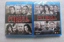 Pitbull. Niebezpieczne kobiety + Pitbull. Nowe porządki  - 2 Blu-ray POLSKI