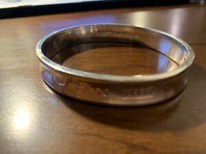 1997 Tiffany & Co. 925 Sterling Silver T&Co 1837 Bangle Bracelet