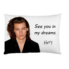 HARRY STYLES ONE DIRECTION See you in my dreams bed pillow cushioncase 95038313