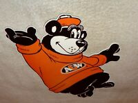 """VINTAGE """"A & W ROOT BEER ROOT BEAR"""" 12"""" METAL A&W SODA POP GASOLINE & OIL SIGN!!"""