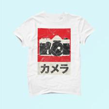 Vintage Japanese Analog Slr Camera Retro Photographer Film Cotton Unisex _877