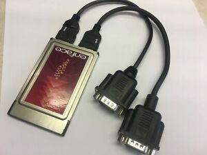 PCMCIA Card 2 x RS232 doppia seriale