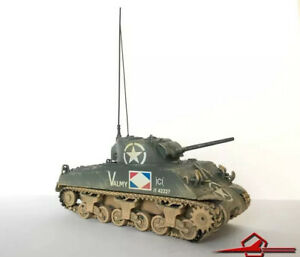 Corgi CC51005 WWII Sherman Tank French Army - 1:50 Scale