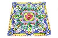 "Happy Birthday LULAROE Women's Bandanna Scarf Floral Colorful Square 26"""