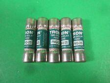 Tron Fuses -- FNQ-25 -- (Lot of 5) New
