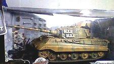 VINTAGE UNIMAX GERMAN WW2 KING TIGER NORMANDY 1944 MIB 2003 BOX HAS SLIGHT DAMAG