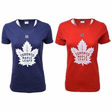 Nhl женские эфирные Toronto Maple Leafs S/S T-Shirt