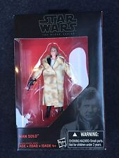 "Star Wars Black Series 3.75"" Han Solo Walmart CHEAP Intl Ship"