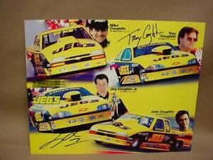 NHRA Signed Jeg & Troy Coughlin Jr JEG'S RACING Pro Stock Cavalier Hero Photo