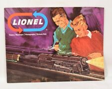 Lionel Trains 1966 Catalog Trains + Raceways Phonographs Science Sets Railroad