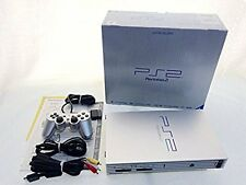 PS2 Satin Silver Console Playstation 2 Japan *COMPLETE - GREAT CONDITION & BOX*