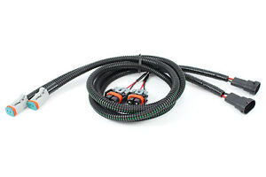 FOGLIGHT WIRING H11 TO DEUTSCH/H11 DUAL ADAPTER - EASILY ADD LED LIGHTS TO TRUCK