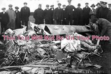 YO 428 - Marske By The Sea, Aeroplane Crash, Yorkshire 1911 - 6x4 Photo