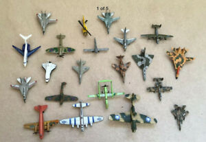 Bundle Of Diecast Model Aeroplanes different makes (18 Metal + 2 plastic)