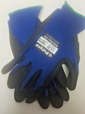Polyflex Air Gloves - Polyco 1803 - Size 9 Large - Black/Blue - Buy 1 Get 1 Free