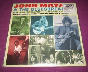 JOHN MAYALL & THE BLUESBREAKERS - EUROPEAN UNION LIVE L.C. UK 2020 LTD # EDITION