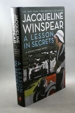 A LESSON IN SECRETS - Jacqueline Winspear - 1st Edition 1st Printing - 2011- HC
