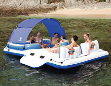 New Bestway Inflatable Relax Tropical Breeze Floating Island Lounge (#43105)