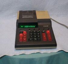 Vintage Facit Adding Machine Printing Calculator 2252 Works Great*