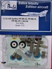 Pavla 1/72 Spitfire PR Mk. IA, PR Mk. IV, PR Mk. VII & Decals #U72129