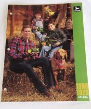 John Deere ERTL Replicas Toy Catalogue Dealer's Brochure 1999