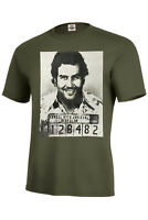 PABLO ESCOBAR MUGSHOT ASSORTED COLORS ADULT/LONG/TANK TOP BEST SELLER SIZE S-5XL