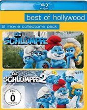 Blu-ray * Die Schlümpfe Teil 1+2 * Die Filme * Doppelpack * NEU OVP