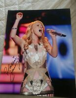 HALLIE CAVANAUGH SIGNED 8X10 PHOTO AMERICAN IDOL W/COA+PROOF RARE WOW