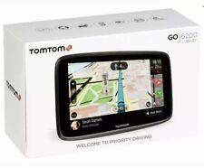 Tomtom Go 6200, Lifetime World Map ,Speed camera, Live Traffic via built-in SIM