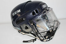 Vintage CCM HT500 Hockey Helmet with ITECH COMBO DELUXE VISOR/CAGE *** L@@K