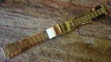 Vintage Omega Gold Plate Watch Bracelet ~ LQQK ~ BUY!