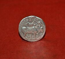 Unresearched Ancient Greek Ar Silver Tetradrachm Coin 10G