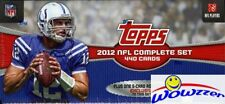 2012 Topps Football EXCLUSIVE 445 Card Retail Factory Set-5 ROOKIE VARIATIONS !!