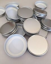 Mason Jar One Piece Silver Canning Lids. Case of 24. Great for Hot Fill Canning.