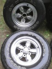 "(2) 15x7"" American Racing CP200 Wheels 5x5"" 5x4.75"" GM Chevy camaro s10 trans am"