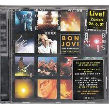 BON JOVI - One wild night - Live 1985-2001 CD 2001 USATO OTTIME CONDIZIONI (L)