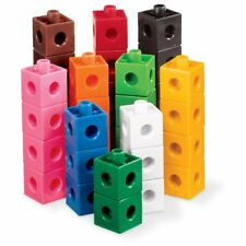 NEW ETA hand2mind 5810 Linking Pop Cubes (Set of 100) FREE2DAYSHIP TAXFREE